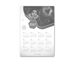 firmowe kalendarze reklamowe plakatowe