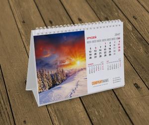 kalendarz na biurko KB10-W1