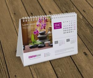kalendarze na biurko KB10-W2