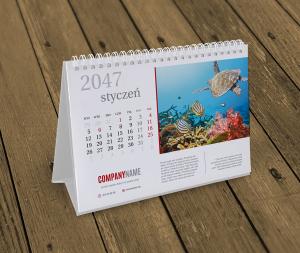 kalendarze na biurko KB10-W4