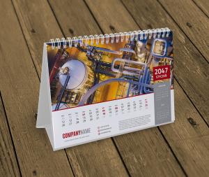 kalendarz biurkowy KB10-W6