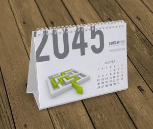 kalendarz biurkowy KB10-W7