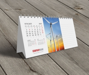 Kalendarze biurkowe 2018 BK20-W1-1