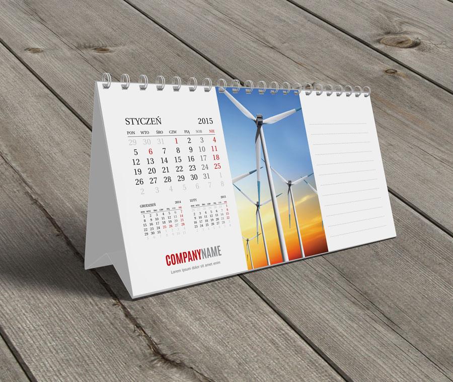 kalendarz biurkowy 2015