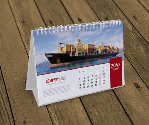 kalendarz biurkowy KB10-W10