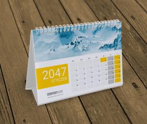 kalendarz biurkowy KB10-W11