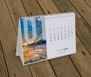 kalendarz biurkowy KB10-W8