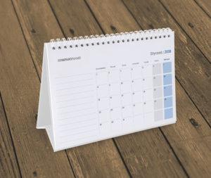 kalendarz na biurko KB10-W18